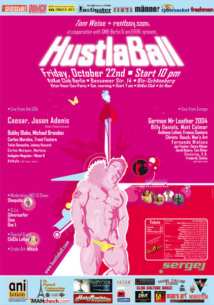 HustlaBall Berlin 2004 - Poster