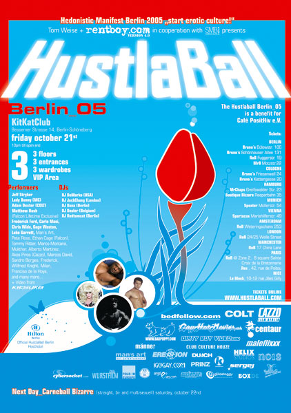 HustlaBall Berlin 2005 - Poster