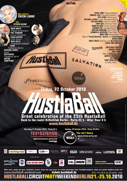 HustlaBall Berlin 2010 - Poster