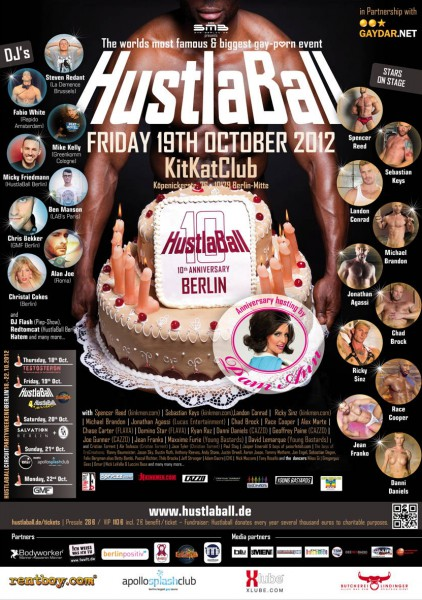 HustlaBall Berlin 2012 - Final poster