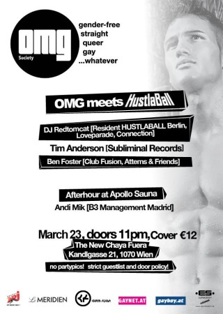 OMG meets HustalBall berlin - Flyer backside - March 23, 2013