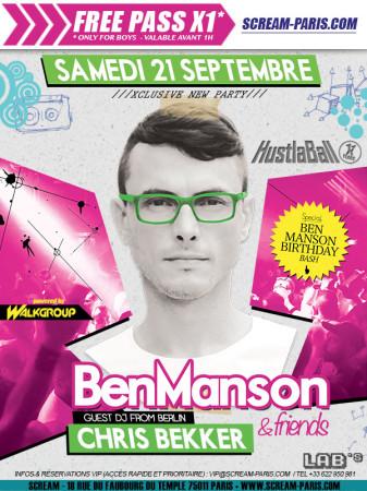 Poster Pre-Party Paris 2013