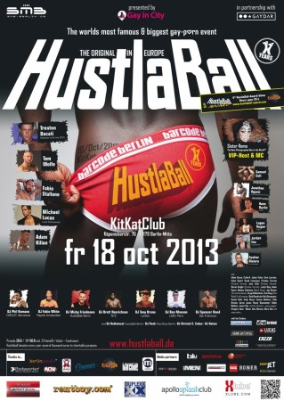 HustlaBall Berlin Poster 2013 - Final Version