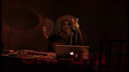 DJ ChiChi LaRue on HustlaBall Berlin 2007
