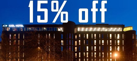 Official Host-Hotel – Axel Hotel – Early Bird Rate