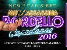 HUSTLABALL BERLIN meets BORDELLO MUCCASSASSINA for NEW YEAR'S EVE!