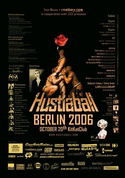 HustlaBall Berlin 2006 - Poster