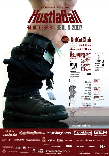HustlaBall Berlin 2007 - Poster