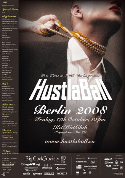 HustlaBall Berlin 2008 - Poster