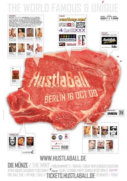 HustlaBall Berlin 2009 - Poster