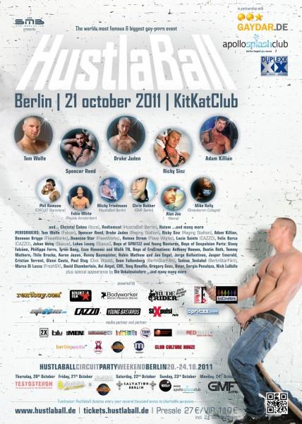 HustlaBall Berlin 2011 - Final poster