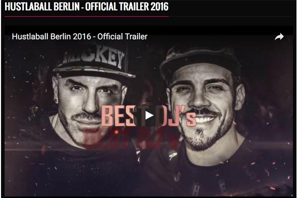 HustlaBall Berlin Trailer 2016